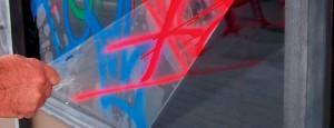 Folie voor Glasbescherming